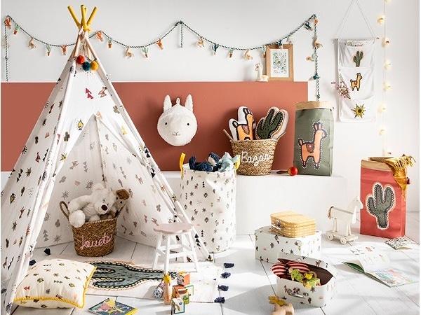 Une chambre d' enfant Aztèque
