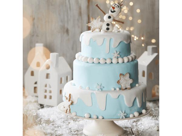 Mon cake design Reine des Neiges