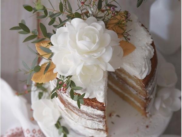 Un gâteau fleuri pour le printemps