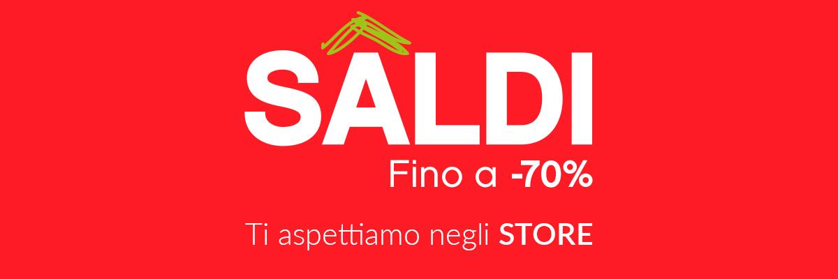 Saldi fino al -70%  solo nei nostri negozi✅ Consegna gratuita da 29€ ✚ 4 000 prodotti ✓ Pagamenti 100% sicuri desktop