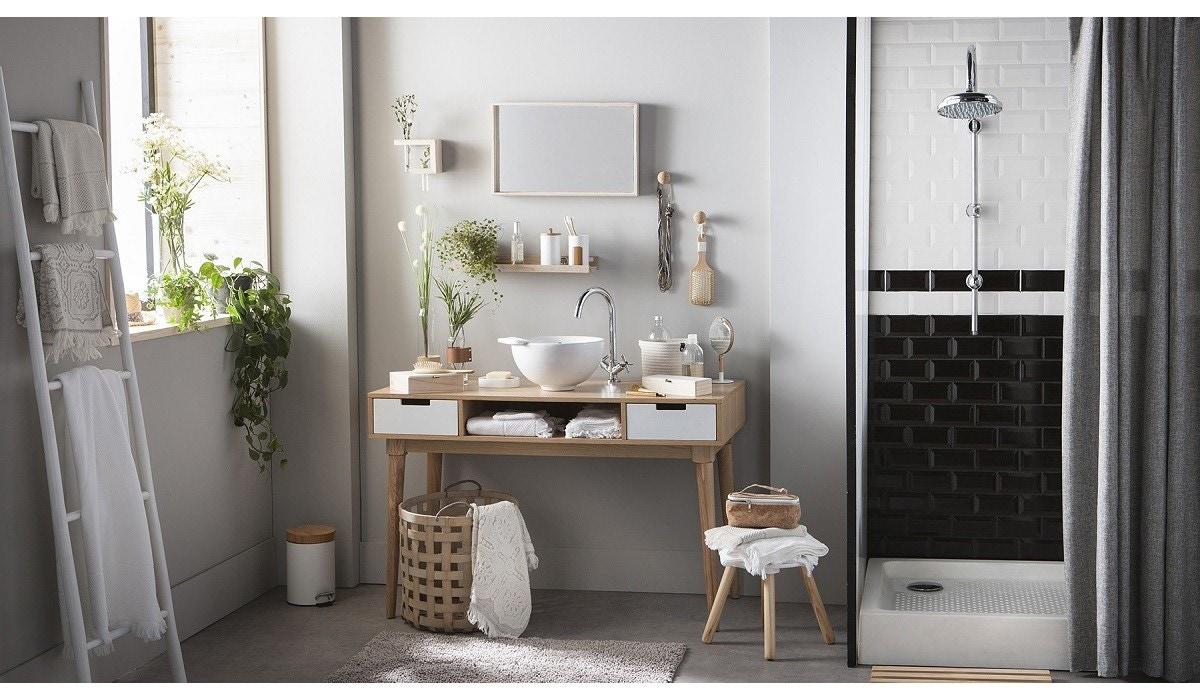 Salle De Bain Deco Bambou idées déco pour la salle de bain, collection naturel zôdio