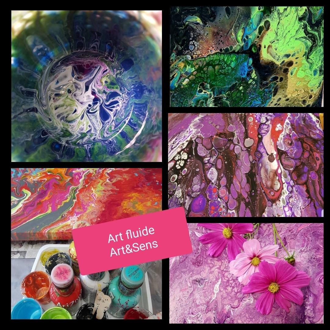 Enfantsadultes Crea Peinture Art Fluide Ateliern2 Zôdio